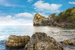 Island on summer in Thailand Stock Image