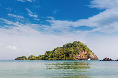 Island on summer in Thailand Stock Photography
