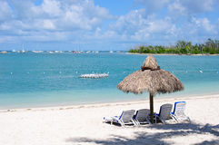Island in the Sun. Tropical Island in the Florida Keys stock photo