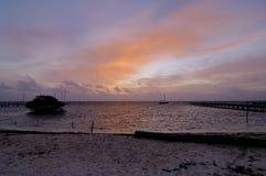 Island Sunrise Royalty Free Stock Images