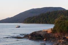 Island Sunrise Stock Images