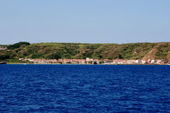 Island Susak near Mali Losinj at adriatic sea in Croatia Royalty Free Stock Image