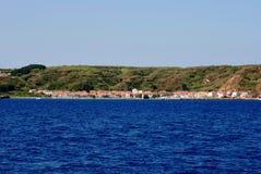 Island Susak near Mali Losinj at adriatic sea in Croatia Royalty Free Stock Image