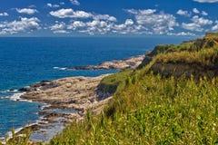 Island of Susak rocky coast Stock Images