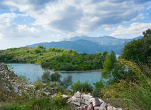 Island of Sveti Marko, Montenegro Royalty Free Stock Image
