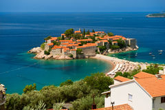 Island of Sveti Stefan Royalty Free Stock Images