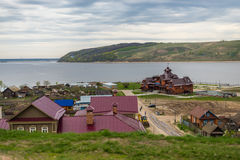 Island Sviyazhsk Royalty Free Stock Photo