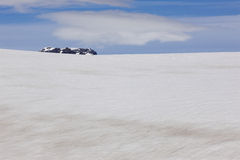 Island. Sydostligt område. Skalafelllsjokull glaciär. royaltyfri fotografi
