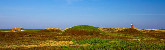 The island of Sylt. Landscape stock photography