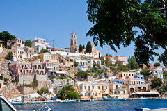 Island Symi (Simi) Stock Photography