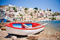 Island Symi (Simi) Stock Photo