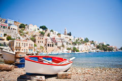 Island Symi (Simi) Royalty Free Stock Photos