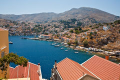 Island Symi (Simi) Royalty Free Stock Images