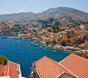 Island Symi (Simi) Stock Photos