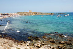 The Island Tabarca Royalty Free Stock Images