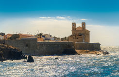 Island of Tabarca Royalty Free Stock Photography