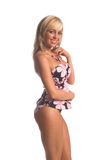 Island Tankini Blonde Royalty Free Stock Images