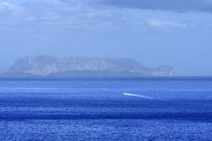 Island of Tavolara Stock Image