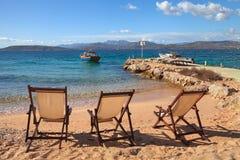 Island of Tavolara. Royalty Free Stock Photos