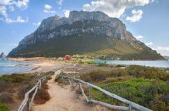 Island of Tavolara. Royalty Free Stock Photo
