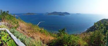 Island in Thai gulf Stock Image