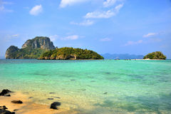 On the island in Thailand Royalty Free Stock Images