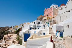 Island of Thera (Santorini) Cyclades, Greece. Royalty Free Stock Image