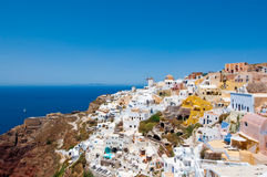 Island of Thera (Santorini) Cyclades, Greece. Stock Photography