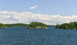 Island of the Thousand Islands Stock Photos