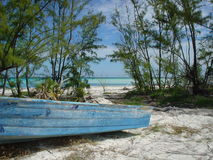 Island time. Calming, Great harbor cay, bahamas Royalty Free Stock Photos