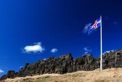 Island-Tingvellir Stockfotografie
