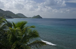 Island of Tortola in Caribbean Royalty Free Stock Photography