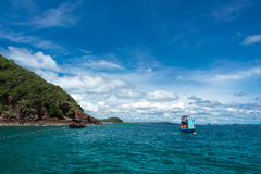 Island. For tourist to dive royalty free stock images