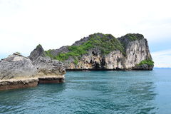 Island in trang thailand Royalty Free Stock Photo