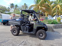 Island transportation in the caribbean. Royalty Free Stock Photo
