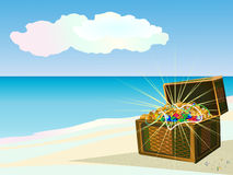 Island of treasures Stock Images