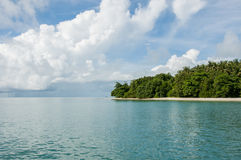 Island with trees at Phang Nga Bay Stock Images