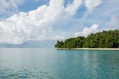 Island with trees at Phang Nga Bay Stock Images