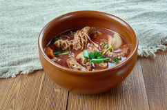 Island Tripe Stew. Popular, every Filipino and Hawaiian Food Restaurants stock photos