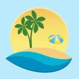 Island. vector illustration