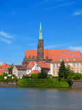 Island Tumski, Wroclaw, Poland Royalty Free Stock Photo