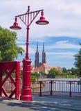 Island Tumski, Wroclaw, Poland Royalty Free Stock Image