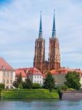 Island Tumski, Wroclaw, Poland Stock Photo