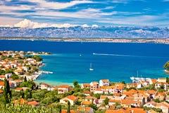 Island of Ugljan beach and coast Royalty Free Stock Images