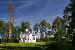 The island Valaam Royalty Free Stock Photo