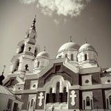 Island Valaam. Spaso-Preobrazhenskiy cathedral Royalty Free Stock Images