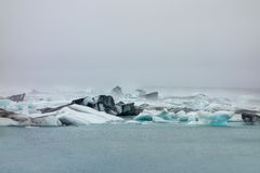 Island Vathnajokull glaciär Royaltyfri Foto