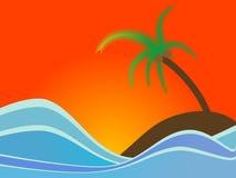 Island Vector royalty free illustration