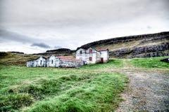 Island verließ Bauernhof Stockbilder