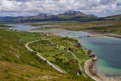 Island Vestvagoy Royalty Free Stock Photography